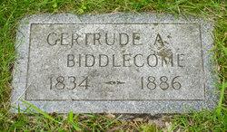 Gertrude A. Biddlecome