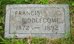 Francis Biddlecome