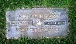 Mary Dorothy <I>Himes</I> Mayne