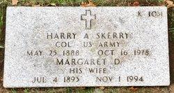 Margaret D Skerry