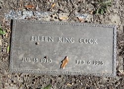 Mary Eileen <I>King</I> Cook