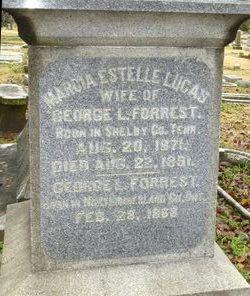 Marcia Estelle <I>Lucas</I> Forrest