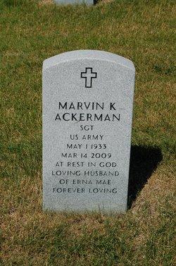 Marvin K Ackerman