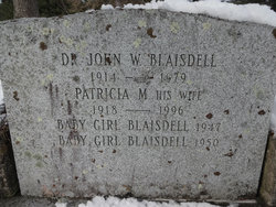 Dr John William Blaisdell
