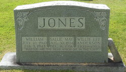 Willie Lee <I>Jones</I> Anderson