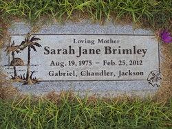 Sarah Jane Brimley