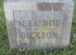 Martha Elinor <I>Graham</I> Dickson