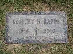 Dorothy H. <I>Buscher</I> Lande
