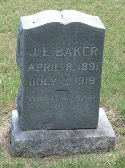 J E Baker