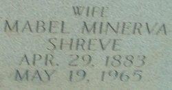 Mabel Minerva <I>Shreve</I> Field