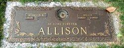 """Glenneth """"Billie"""" <I>Pettigrew</I> Allison"""