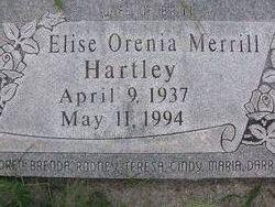 Elise Orenia <I>Merrill</I> Hartley