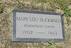 Mary Lillian <I>Chandler</I> Buckwald