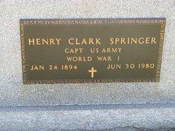 Henry Clark Springer