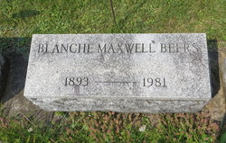 Blanche Agnes <I>Maxwell</I> Beers