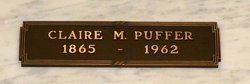 "Clara Madana ""Claire"" <I>Fuller</I> Puffer"