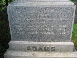 Elizabeth A <I>Wakefield</I> Adams