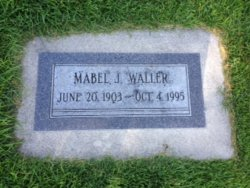 Mabel Waller