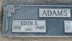 Edith Shirley <I>Hayes</I> Adams