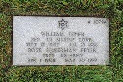 PFC William Feyer