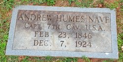 Capt Andrew Humes Nave