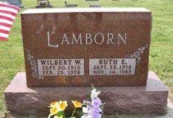 Ruth E <I>Mills</I> Lamborn