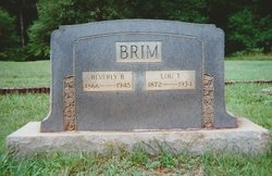 Beverly Banister Brim, Sr