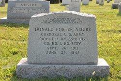 Donald Portor Algire