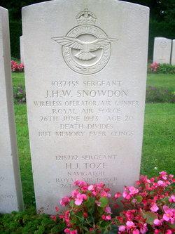 Sergeant (Nav.) Harold James Toze