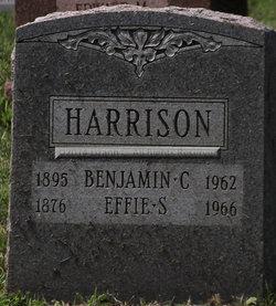 Effie Sarah <I>Lentz</I> Harrison