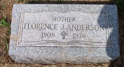 Florence J Anderson