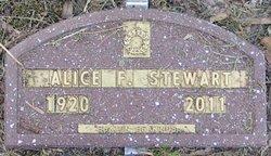 Alice Frances Stewart