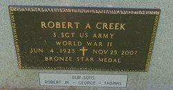 Robert A. Creek, Sr