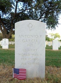 Antonio F Garcia