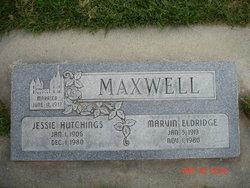 Jessie <I>Hutchings</I> Maxwell