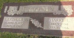 Gertrude Brunger <I>Mitchell</I> Humason