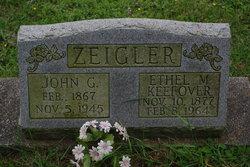 Ethel Mae <I>Keefover</I> Zeigler