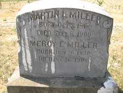 Mercy Emelia <I>Wilson</I> Miller