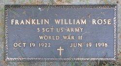 William Franklin Rose