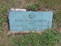 Myrl E Alexander