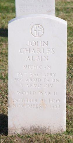John Charles Albin