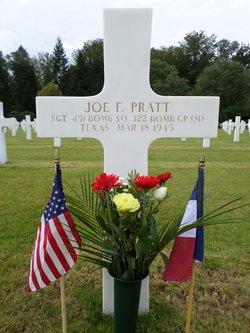 Sgt Joe F Pratt