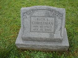 Ruth Lillian <I>Fenstermacher</I> Christman