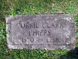 """Cora B """"Corrie"""" <I>Clark</I> Phipps"""