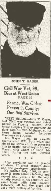 John T. Gager
