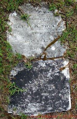 Rev William K Sweatt