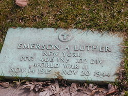 PFC Emerson A Luther
