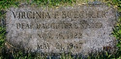 Virginia Frances Buechler