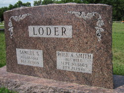 Rose Anna <I>Smith</I> Loder