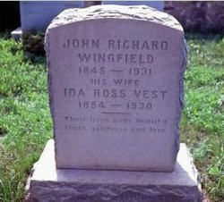 Ida Ross <I>Vest</I> Wingfield